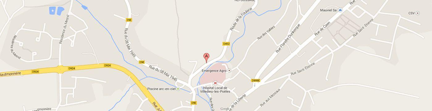 Localisation Gmap