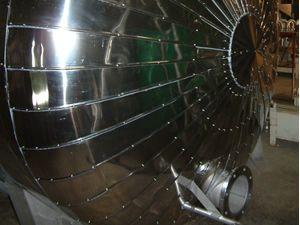 Calorifuge de cuve industrielle