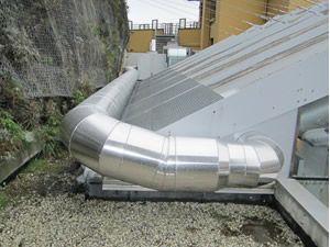 solution de calorifuge de gaine de ventilation industrielle