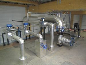 Calorifuge industriel de tuyauteries
